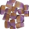 Bicolor Ametrine 10 to 15 gram pieces. Light Color (C)