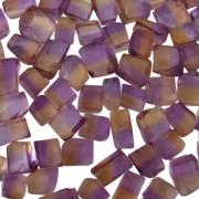 Bicolor Ametrine 1 to 2 gram pieces. Light Color (C)