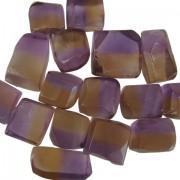 Bicolor Ametrine 5 to 10 gram pieces. Light Color (C)